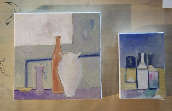 11) Morandi Vases